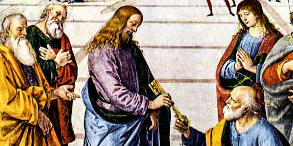 JESUS WITH PETER
