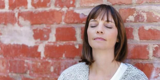 Woman Eyes-Closed