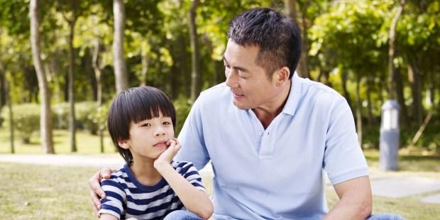 FATHER,SON,CONVERSATION