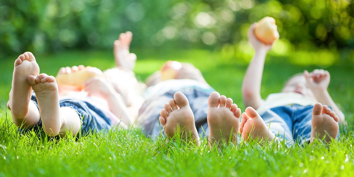 Children Relaxing