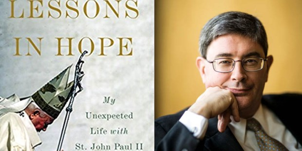 LESSONS IN HOPE BOOK,GEORGE WEIGEL