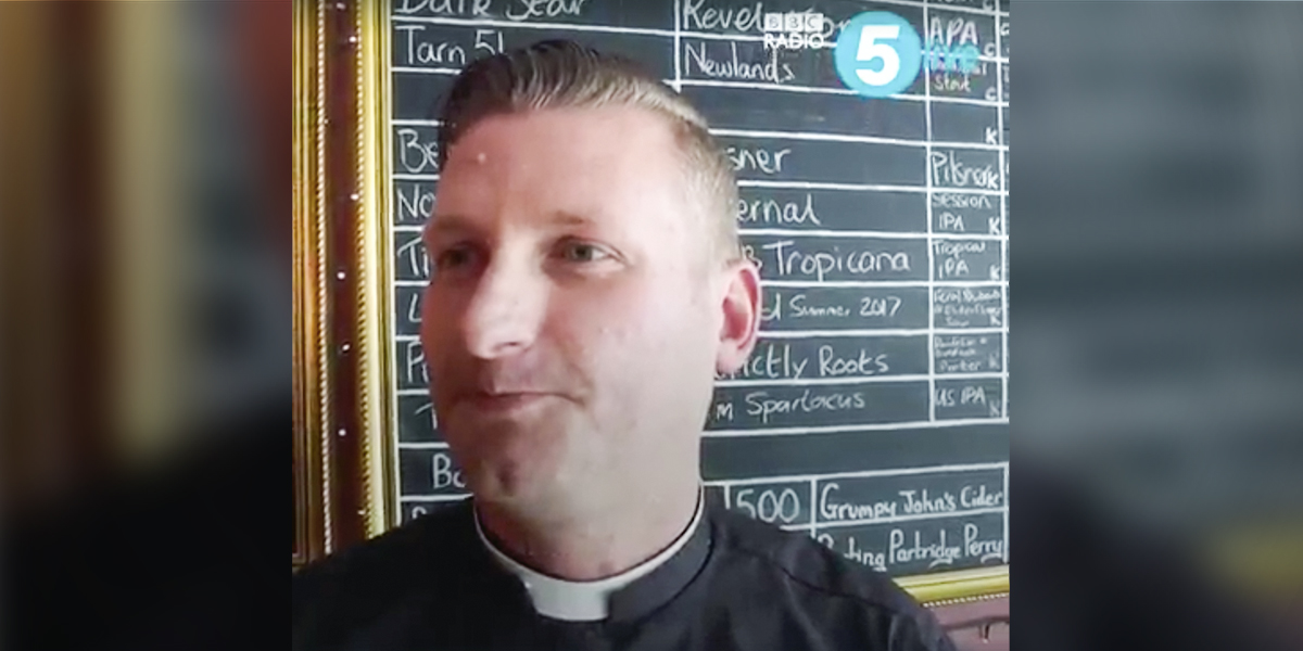 Priest Graeme Hutton