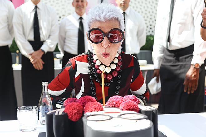 Iris Apfel 95th Birthday