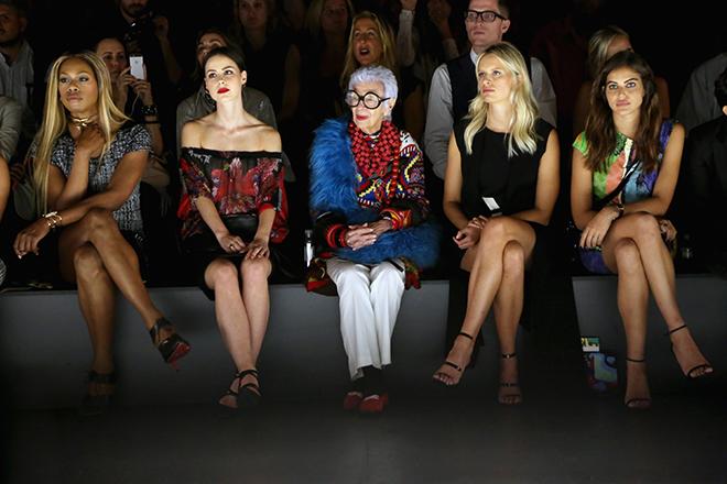Iris Apfel Fashion Show