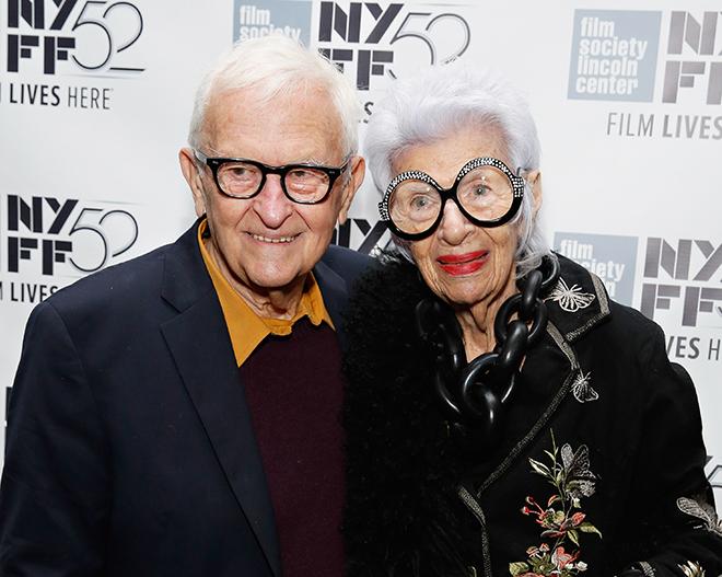 Iris Apfel and Husband Carl