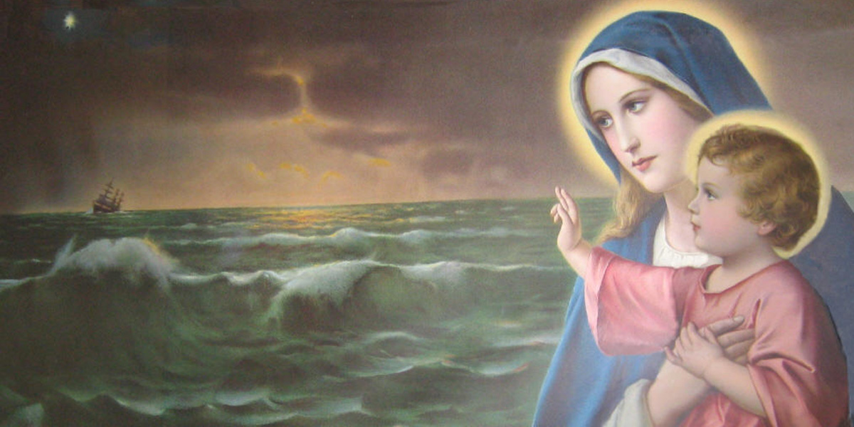MARY,STAR OF THE SEA,STELLA MARIS