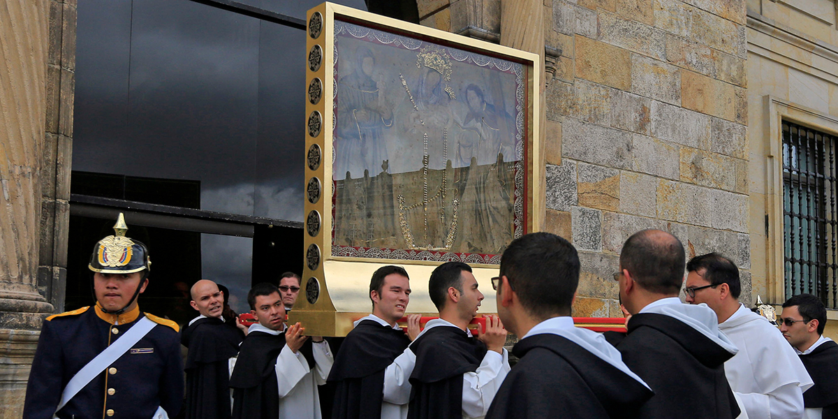 POPE FRANCIS,OUR LADY OF CHINQUINCUIRA