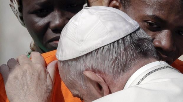 POPE FRANCIS MIGRANTS