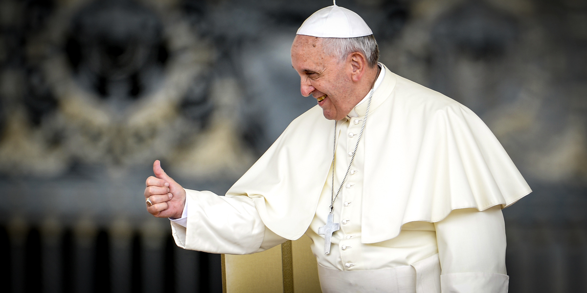 POPE,THUMBS UP