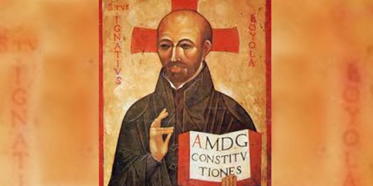 AMDG,ST IGNATIUS LOYOLA