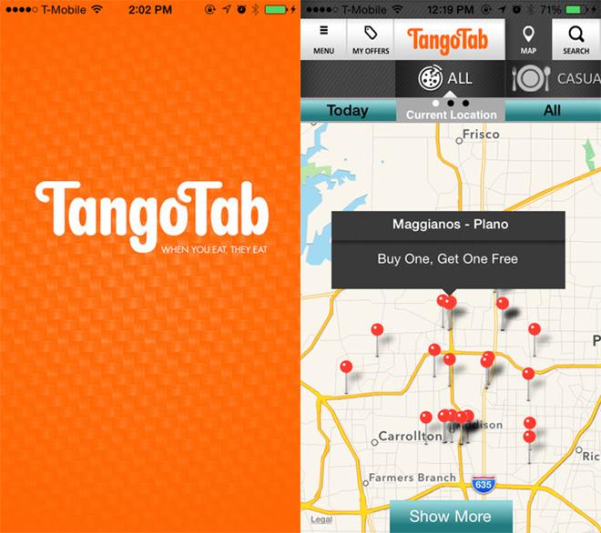 Tango Tab App
