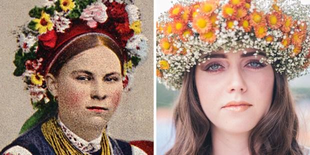 Ukrainian headdress