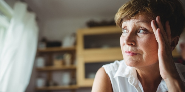 Woman Contemplating