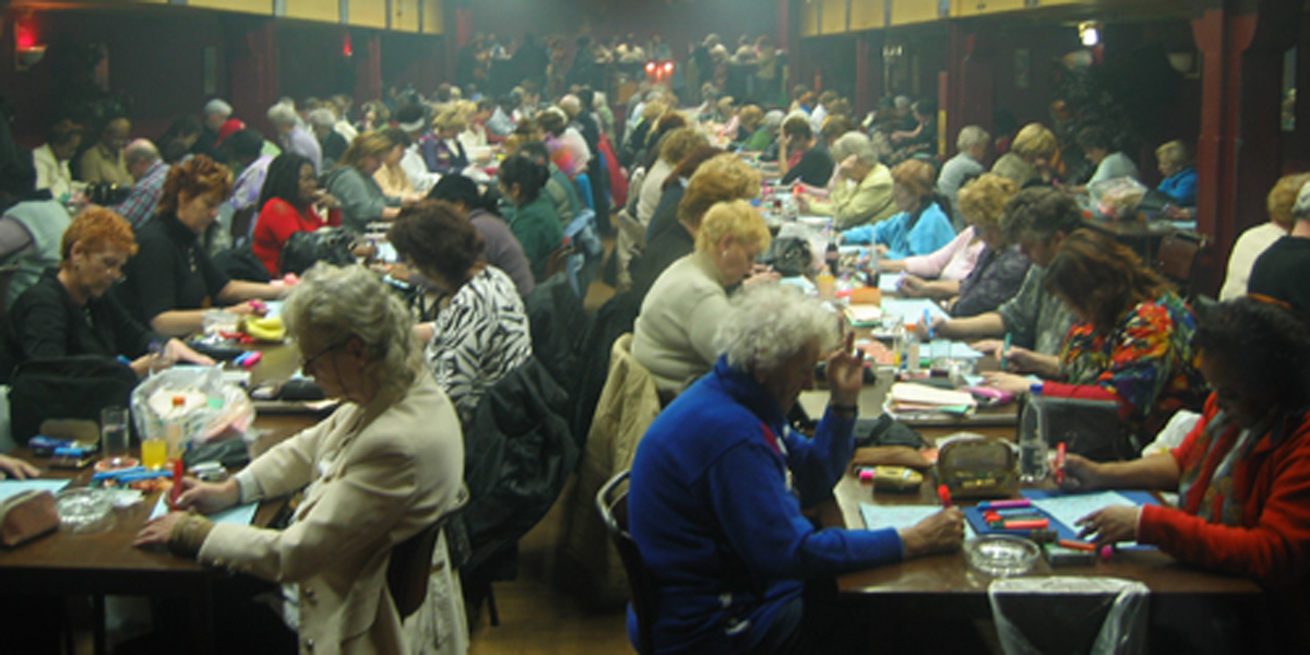 BINGO NIGHT,CHURCH