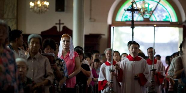CHINA,CATHOLIC