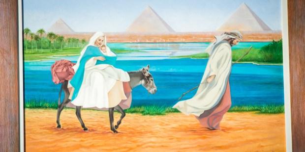 Holy family trip to Egypt