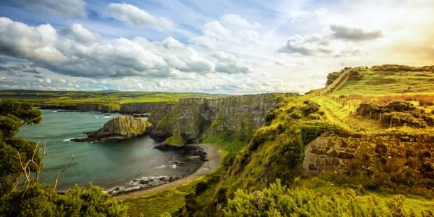 IRELAND,COAST,OCEAN