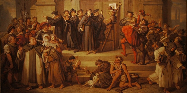 MARTIN LUTHER,REFORMATION,95 THESES