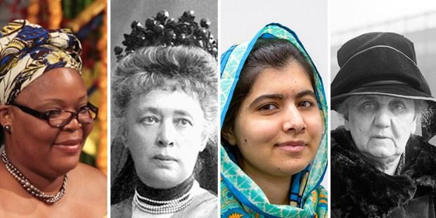 Nobel Peace Prize Women