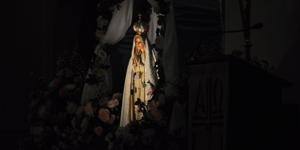 OUR LADY OF FATIMA,STATUE