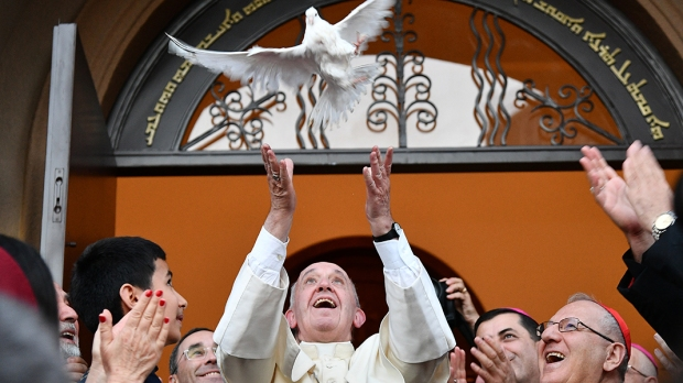 POPE FRANCIS;DOVE