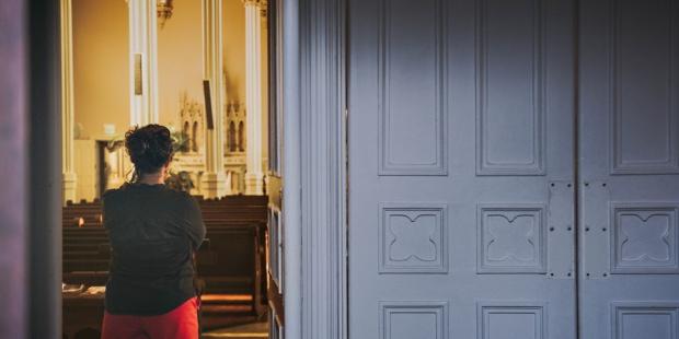 WOMAN,PRAYER,CHURCH