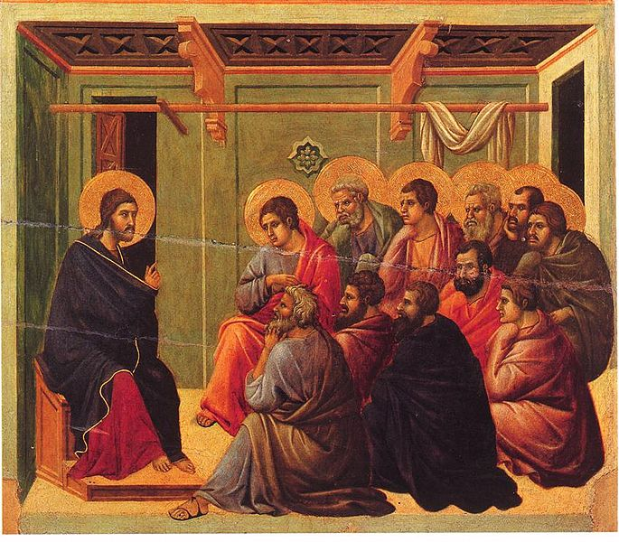 CHRIST TAKES LEAVE OF THE APOSTLES