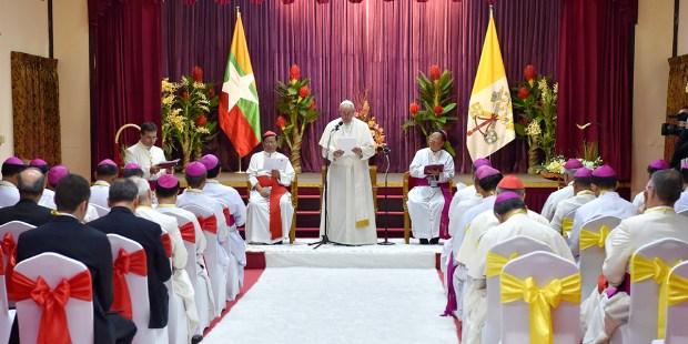 MYANMAR,POPE FRANCIS