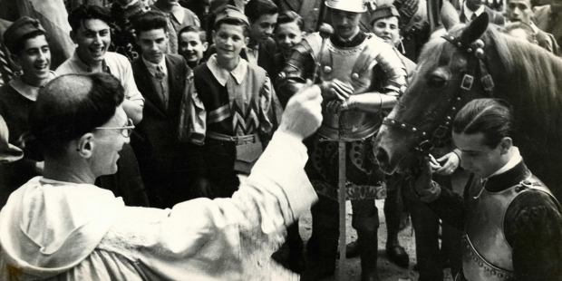 PALIO RACE BLESSING