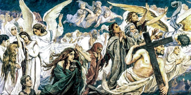 CHRIST;ANGELS;SOULS