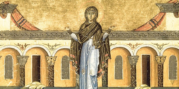 RIGHTEOUS SYNCLETICA OF ALEXANDRIA