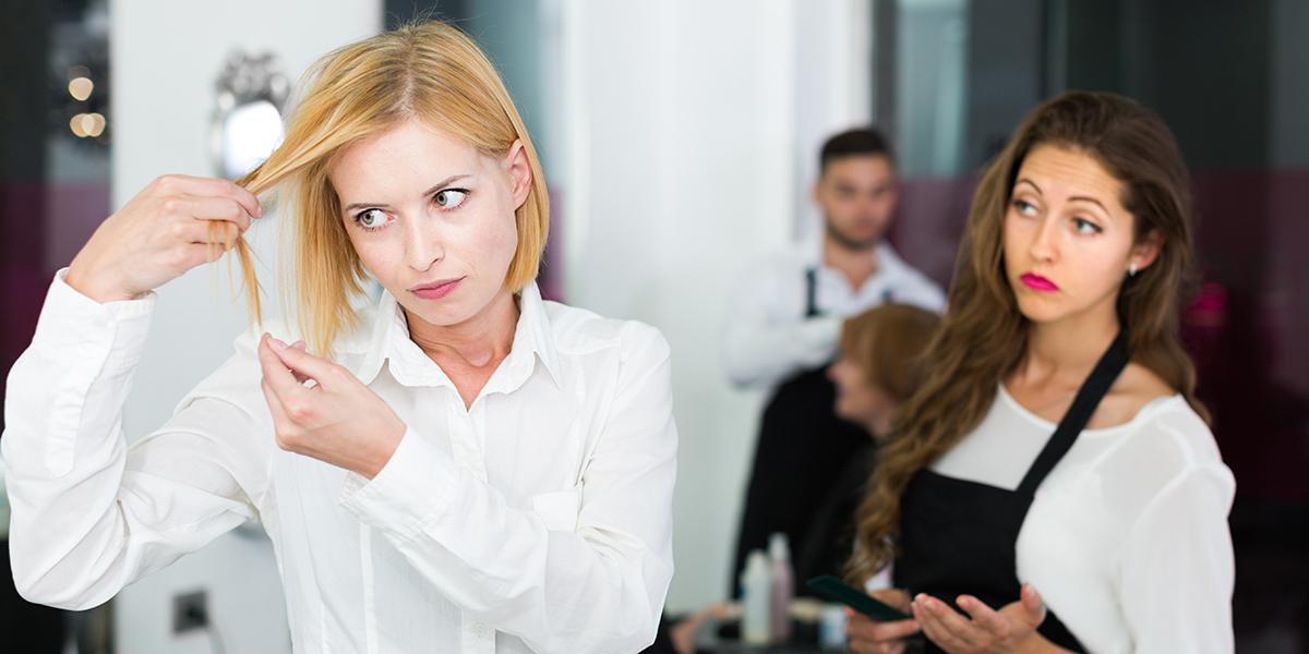 WOMAN HAIRDRESS