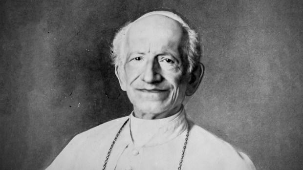 Portrait of Pope Leo XIII.