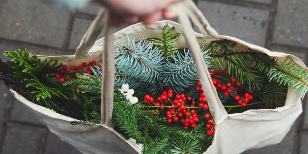 Bag of Christmas Decoration