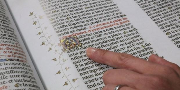 BIBLE GUYARD DES MOULINS