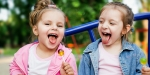 Laughing Little Girls
