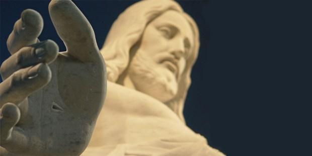 HAND,STATUE,JESUS