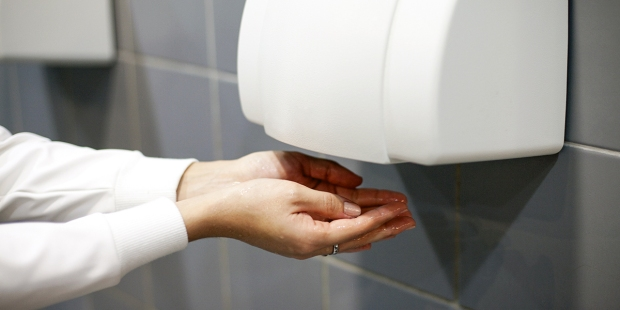 Drying Hands