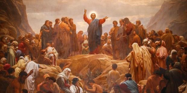 Jesus Sermon on the mount