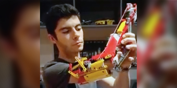 David Aguilar Lego Arm