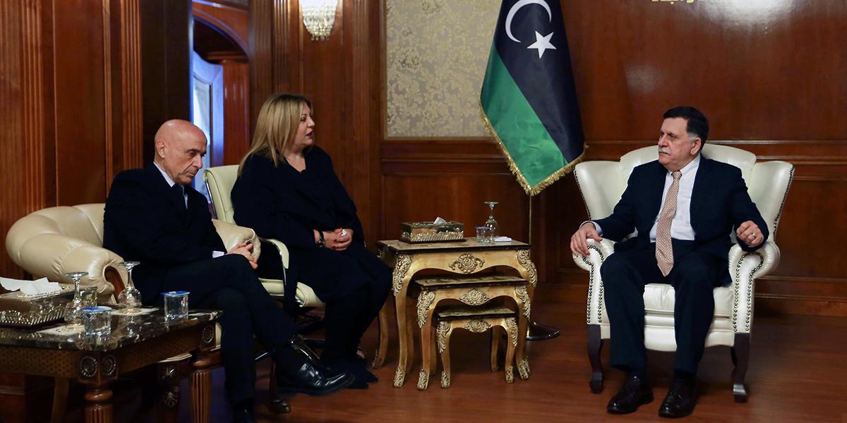LIBYA-ITALY-DIPLOMACY