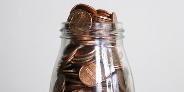 Jar of Pennies