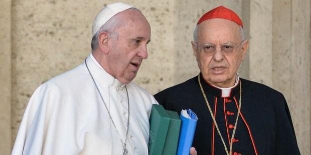 POPE FRANCIS AND CARDINAL BALDISSERI