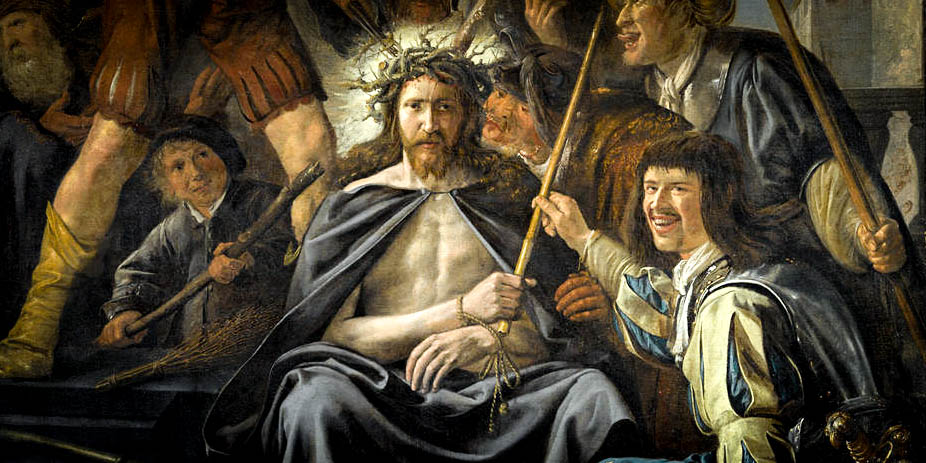 CHRIST BEING MOCKED