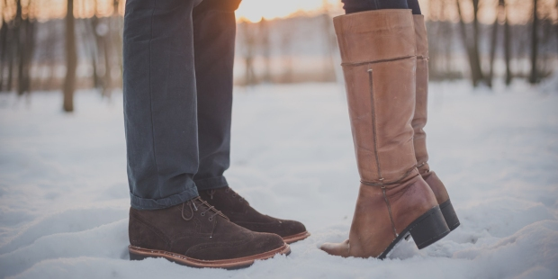 SHOES,BOOTS,COUPLE