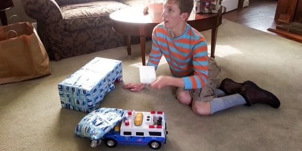 Max Gretschel Christmas Tonka Trucks