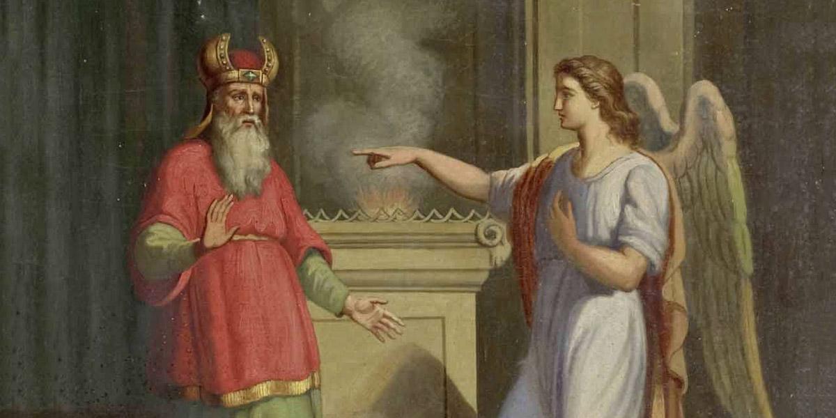 ZECHARIAH,ANGEL,GABRIEL