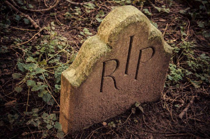 GRAVESTONE RIP