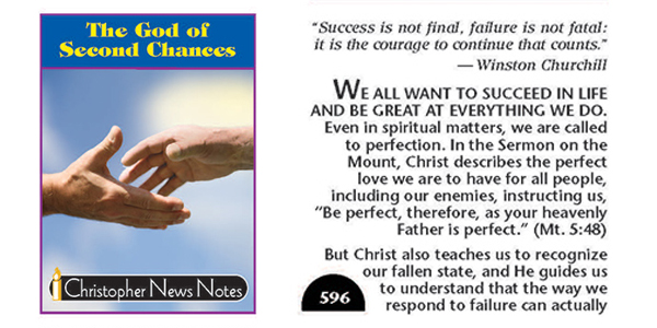 THE GOD OF SECOND CHANCES, 596