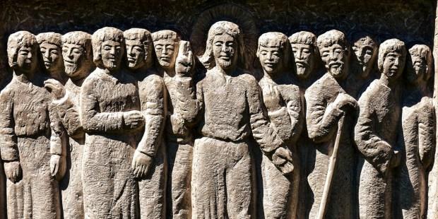 JESUS WITH 12 APOSTLES